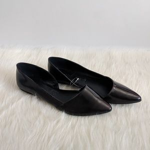 Charlotte Russe Pointed Open Side Flats